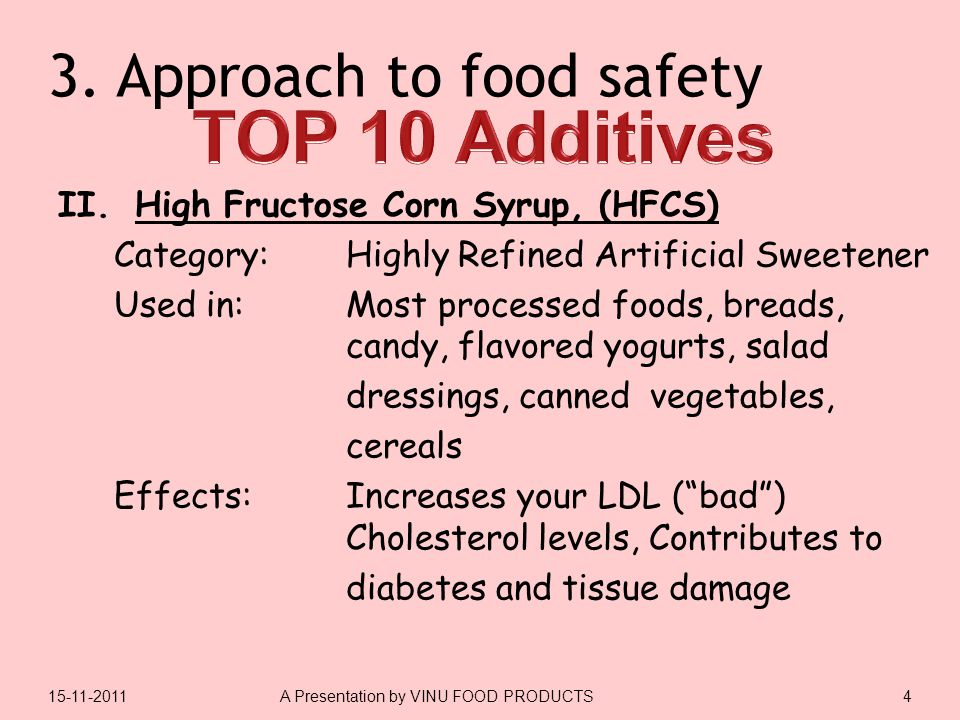 3.Approach to food safety II.