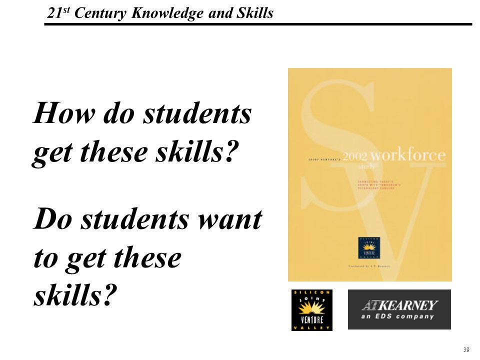 _Macros 21 st Century Knowledge and Skills How do students get these skills.