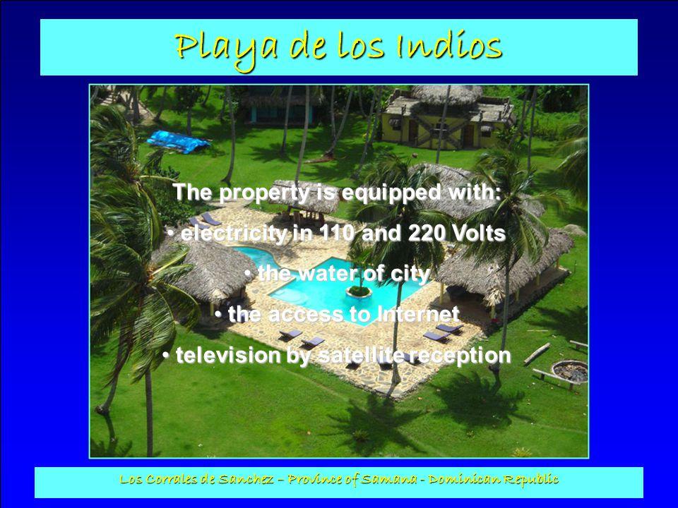 Playa de los Indios Los Corrales de Sanchez – Province of Samana - Dominican Republic The salesman has all the legal documents of title, as well as the finalauthorizations to build for 16 rooms (32 places) of Secrétaria de Estado de Turismo...