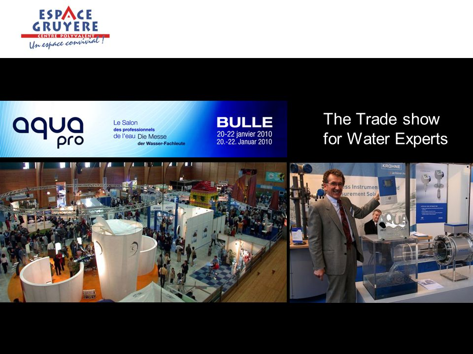 The Trade show for Water Experts