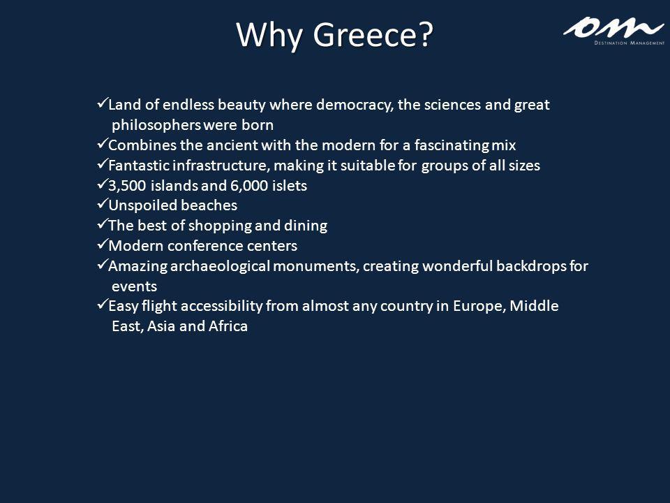Why Greece.