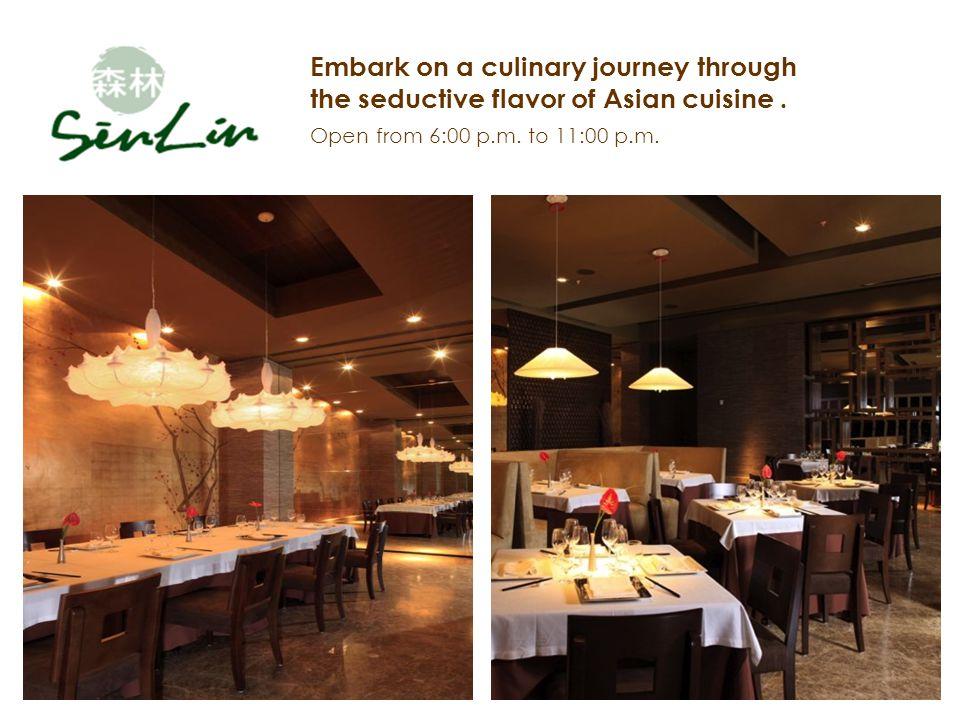 Embark on a culinary journey through the seductive flavor of Asian cuisine.