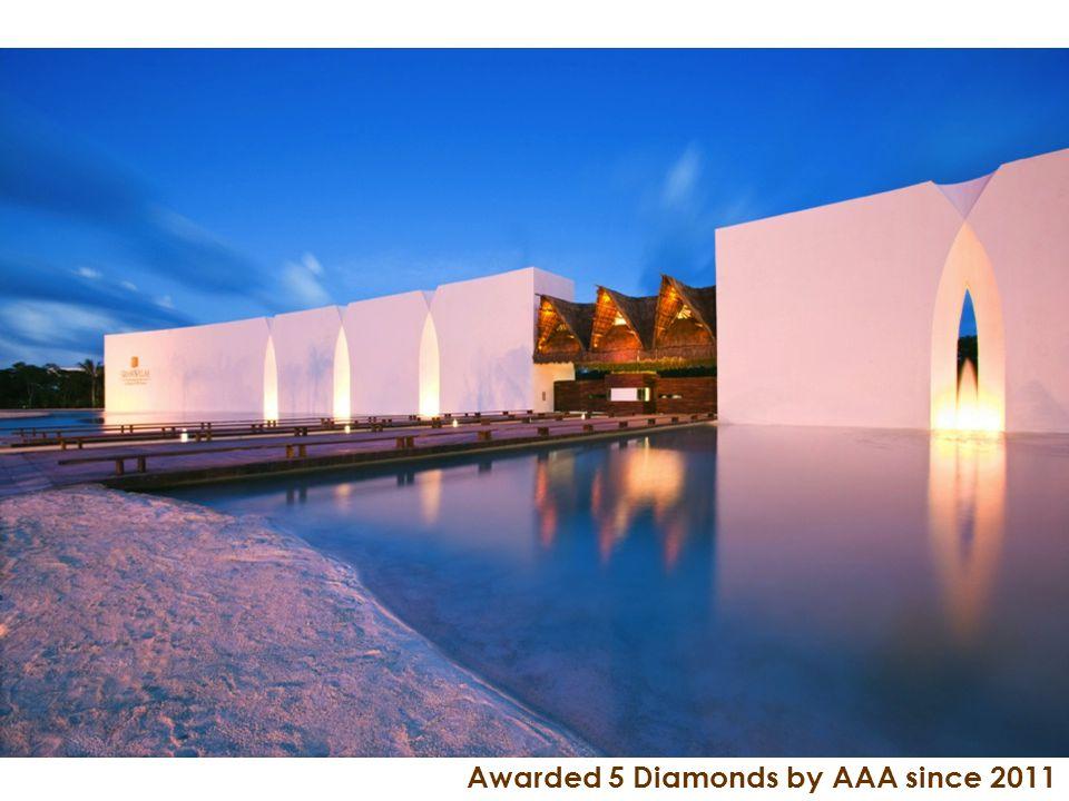 Awarded 5 Diamonds by AAA since 2011