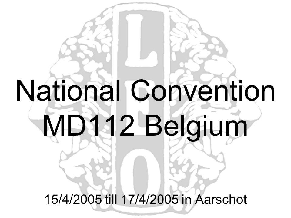 15/4/2005 till 17/4/2005 in Aarschot National Convention MD112 Belgium