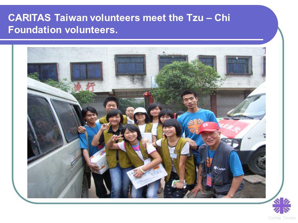 CARITAS Taiwan volunteers meet the Tzu – Chi Foundation volunteers.