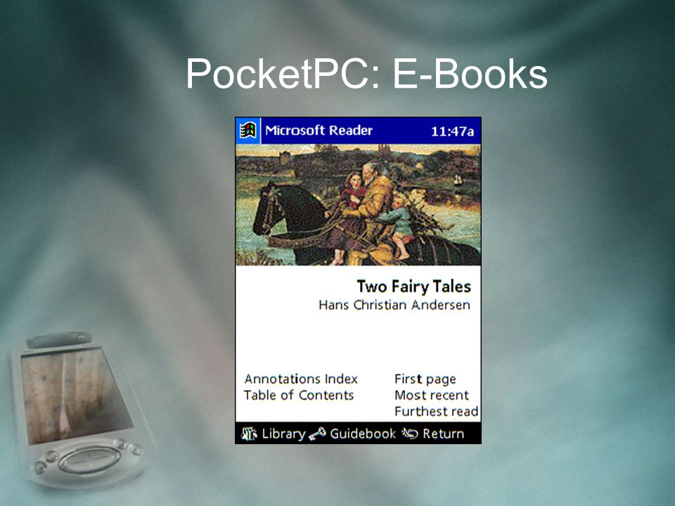 PocketPC: E-Books