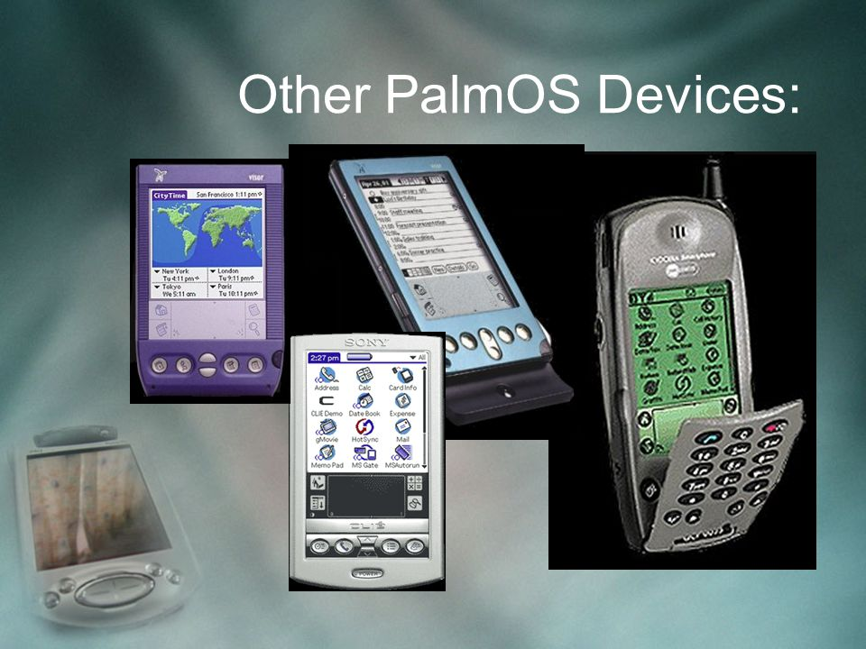Other PalmOS Devices: