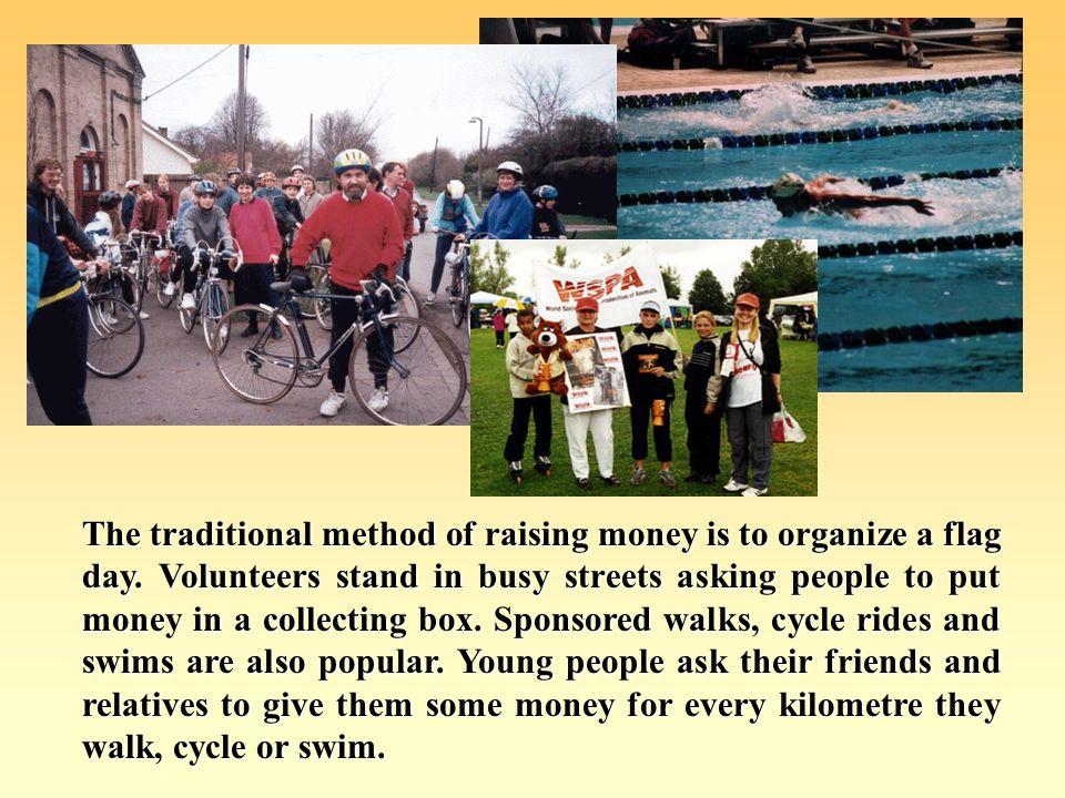 Some charities raise money to save environement.