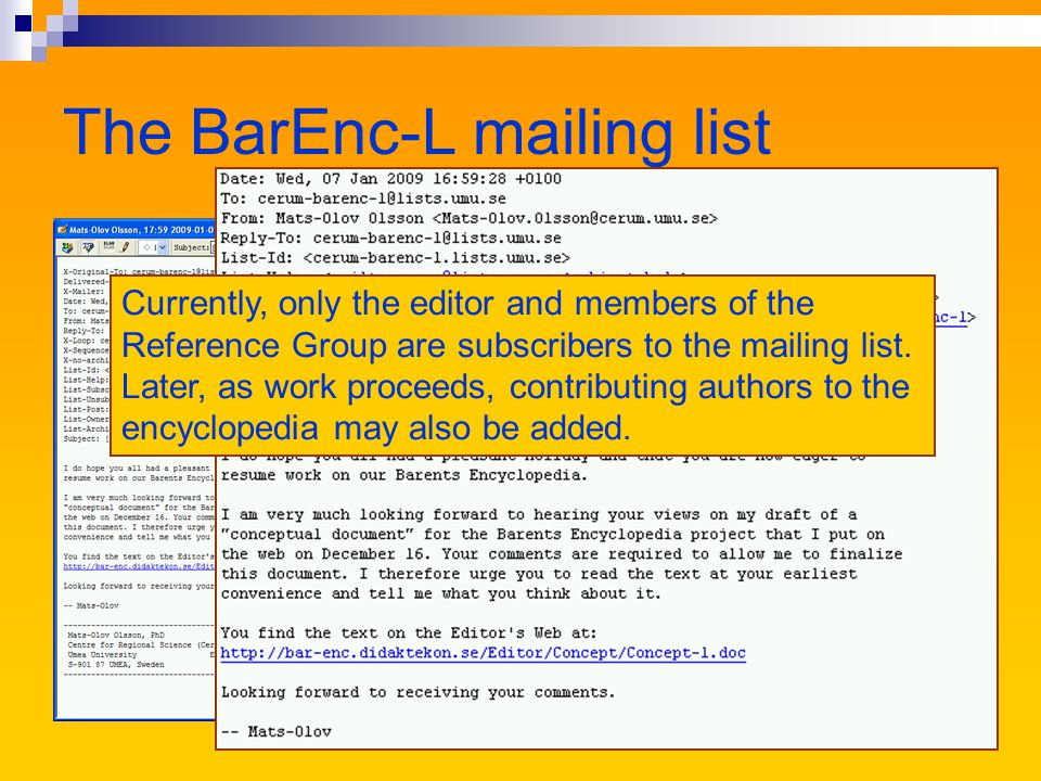 The Editors Web An unofficial website for people directly engaged in the production of the Barents Encyclopedia The site should provide information about the goals of the project and its implementation It should also offer information that may be useful for authors contributing articles to the encyclopedia