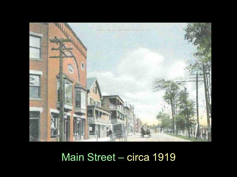 Main Street – circa 1919