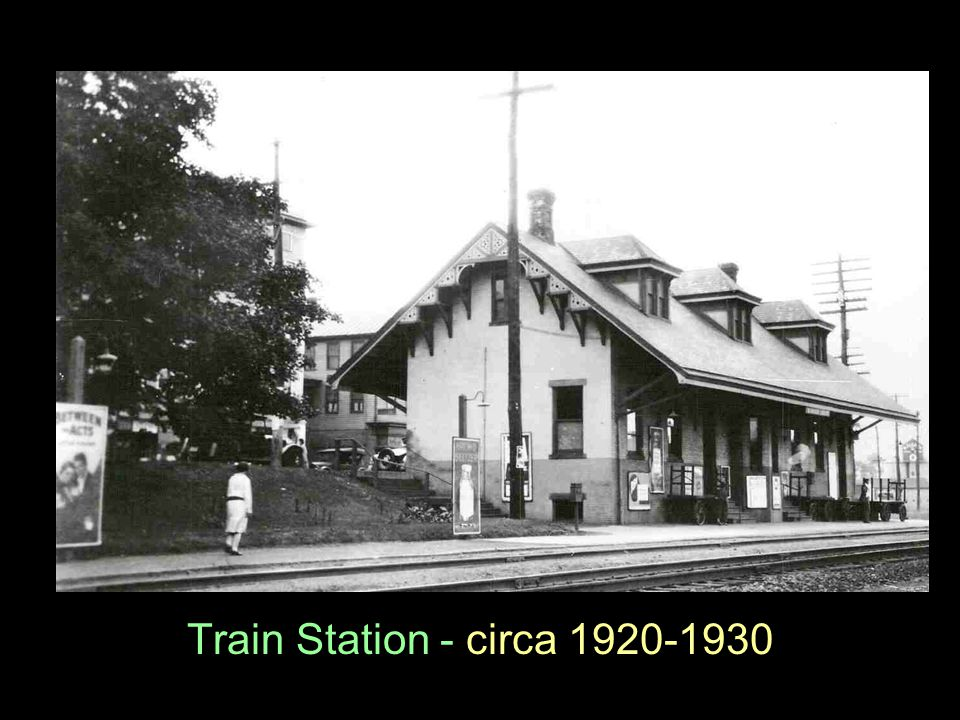 Train Station - circa 1920-1930