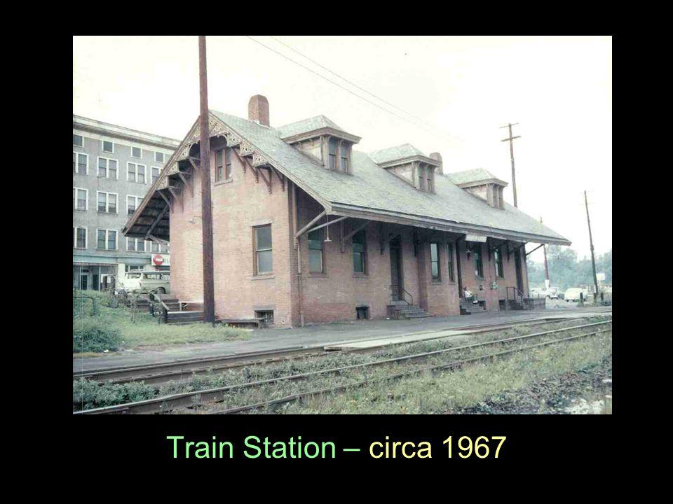 Train Station – circa 1967