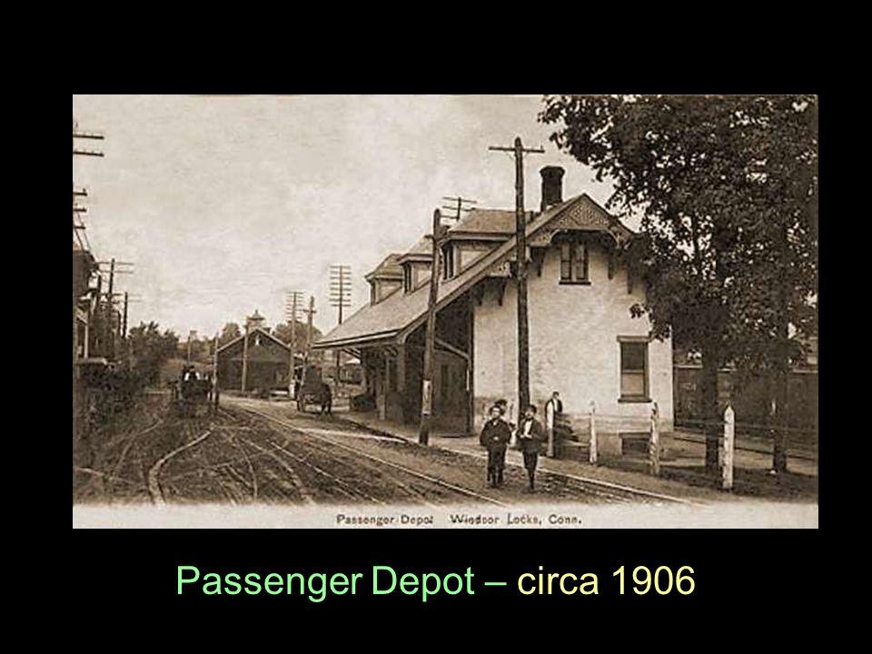 Passenger Depot – circa 1906