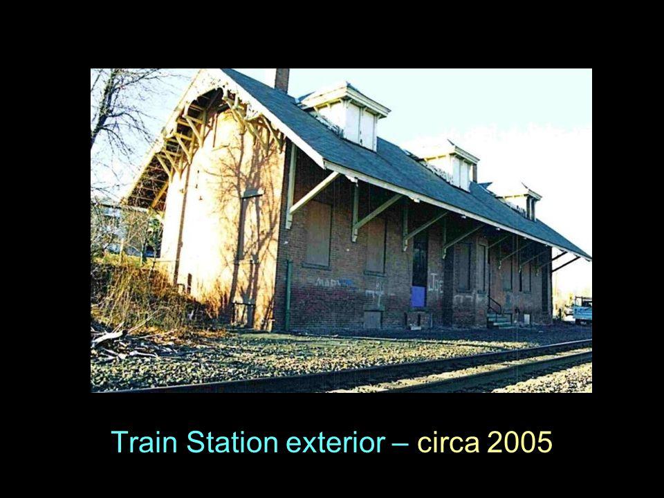 Train Station exterior – circa 2005