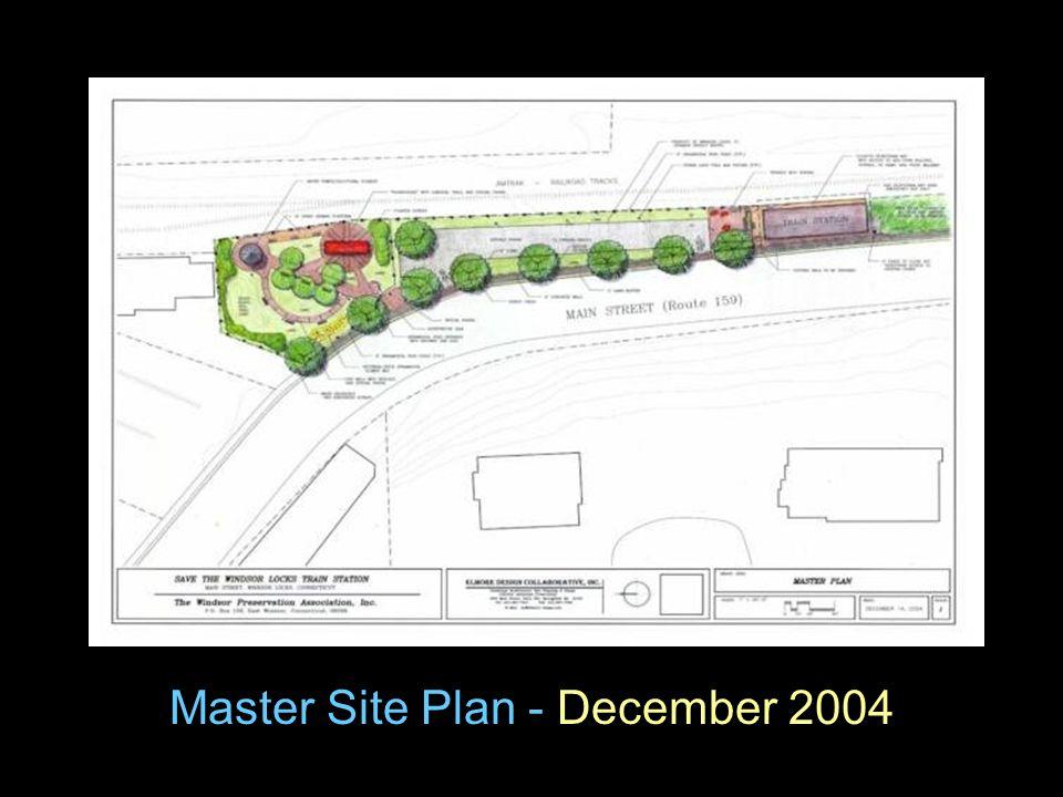 Master Site Plan - December 2004