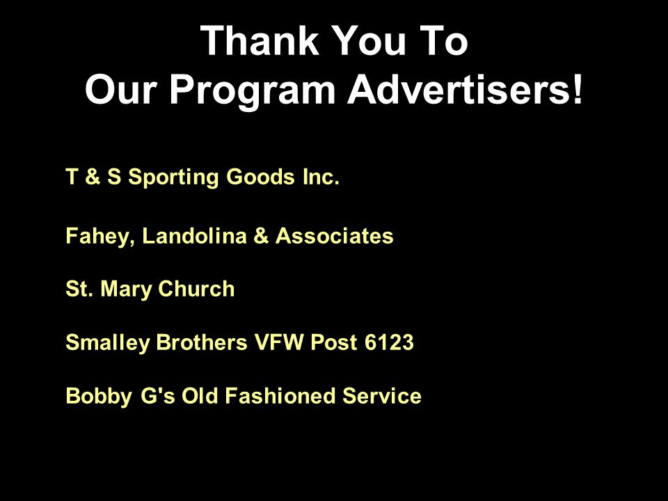 T & S Sporting Goods Inc. Fahey, Landolina & Associates St.