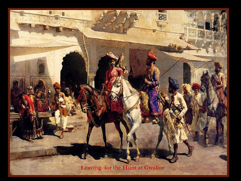 The barje of Maharaja of Benares