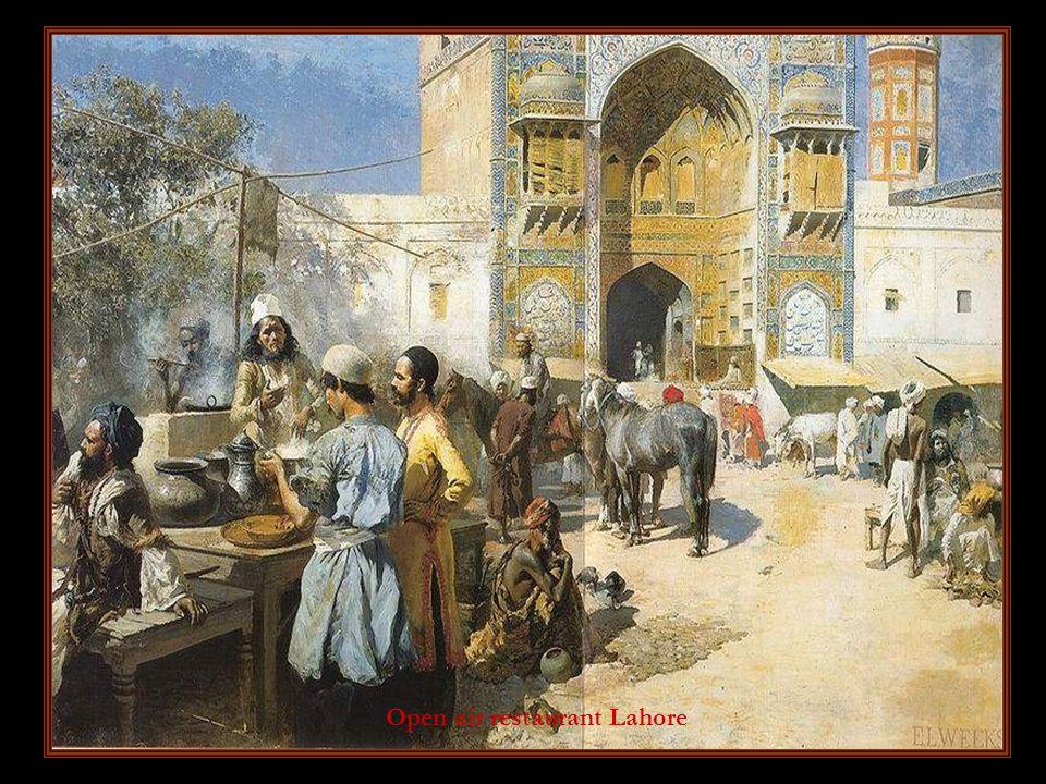 Open air restaurant Lahore
