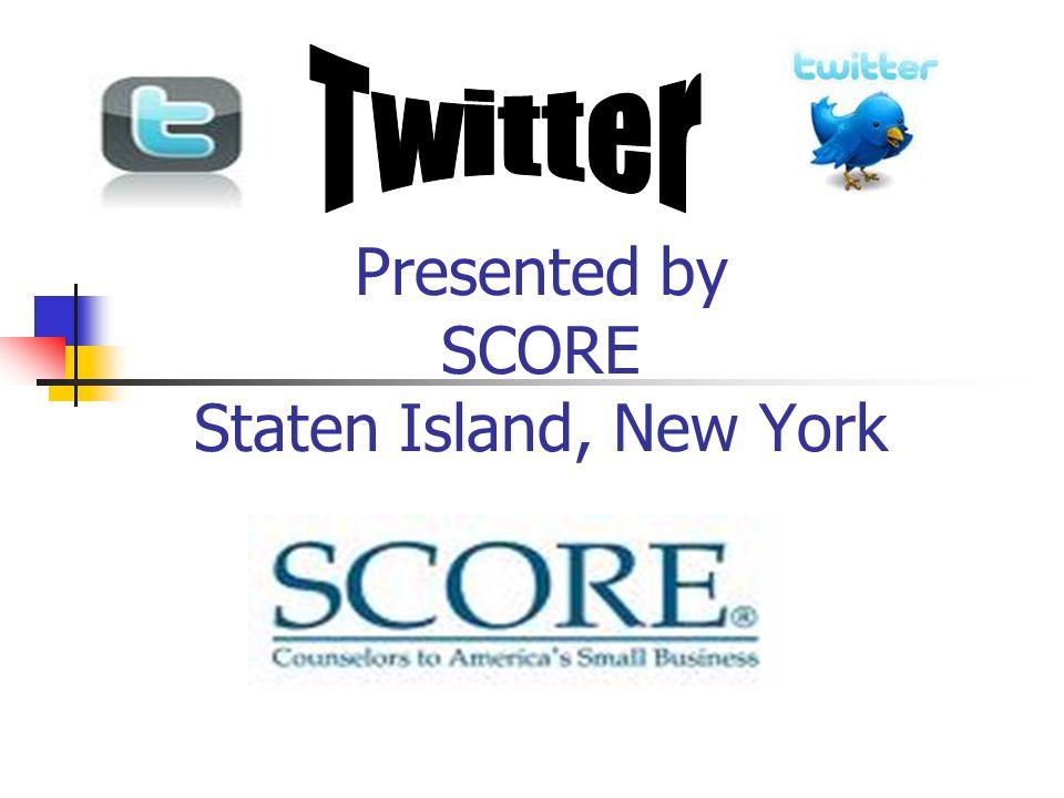 Presented by SCORE Staten Island, New York