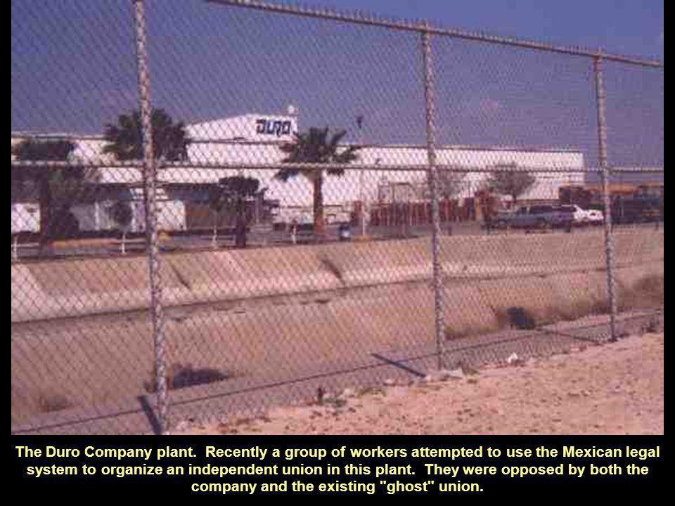 The Duro Company plant.