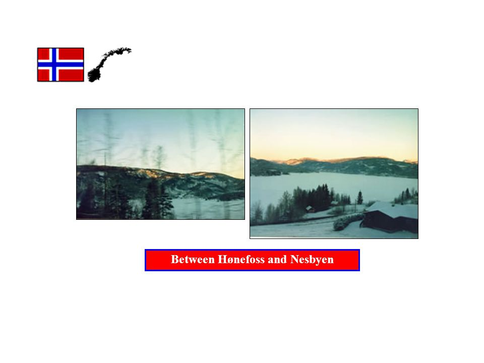 Between Hønefoss and Nesbyen