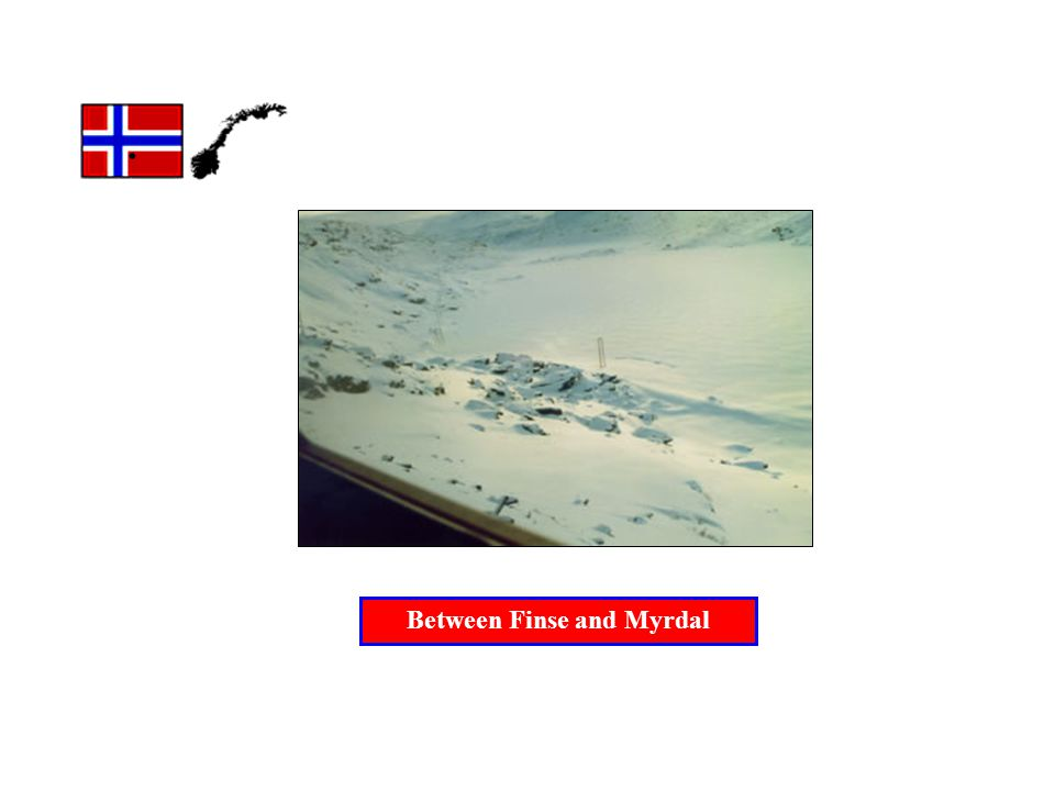 . Between Finse and Myrdal