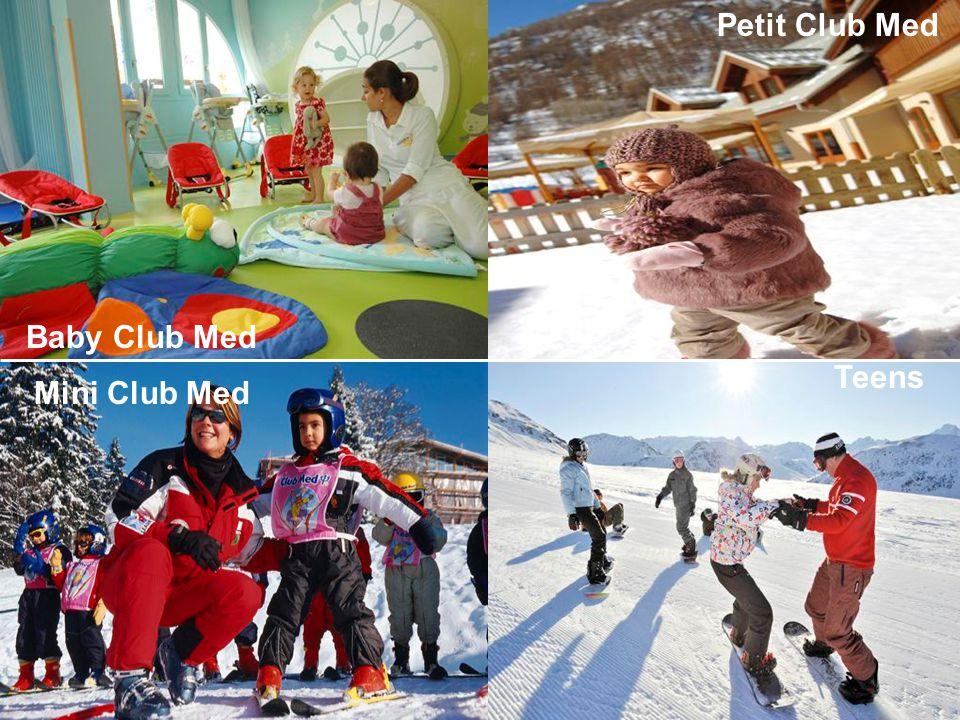 Teens Mini Club Med Baby Club Med Petit Club Med