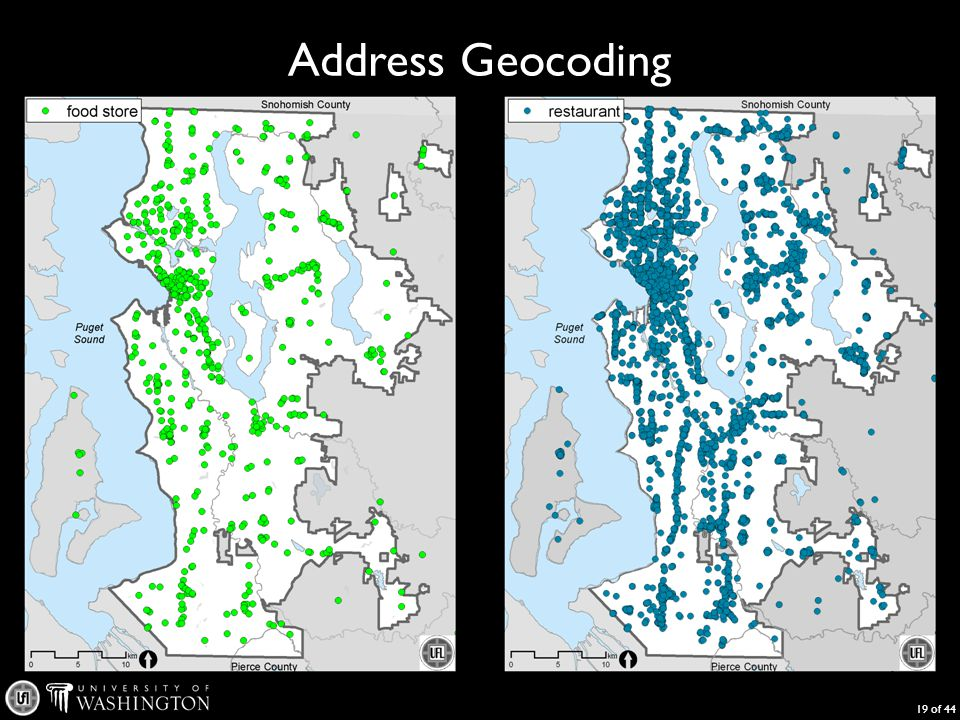 Address Geocoding 19 of 44