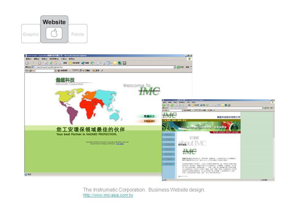 The Instrumatic Corporation. Business Website design. http://www.imc-asia.com.tw