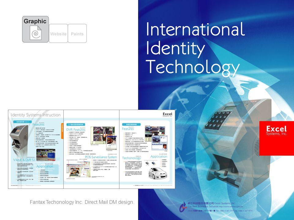 Fantax Techonology Inc. Direct Mail DM design.