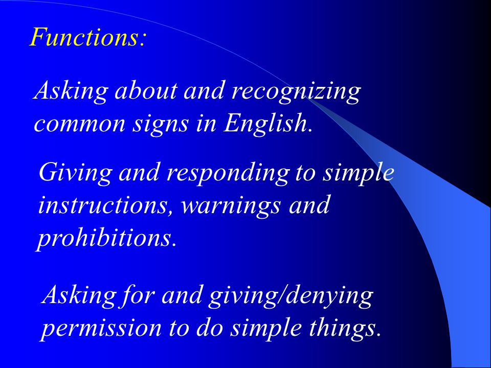 Functions: Talking and writing about an animal in terms of name, appearance, habits and habitat.