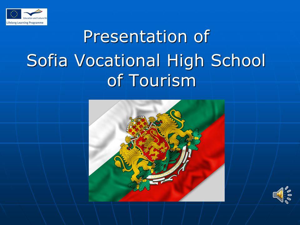 Presentation of Sofia Vocational High School of Tourism