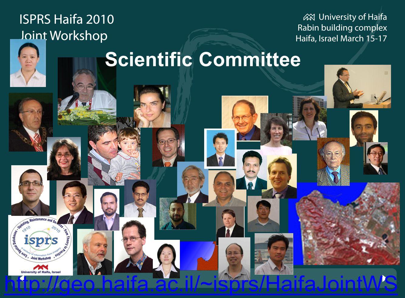 http://geo.haifa.ac.il/~isprs/HaifaJointWS Scientific Committee