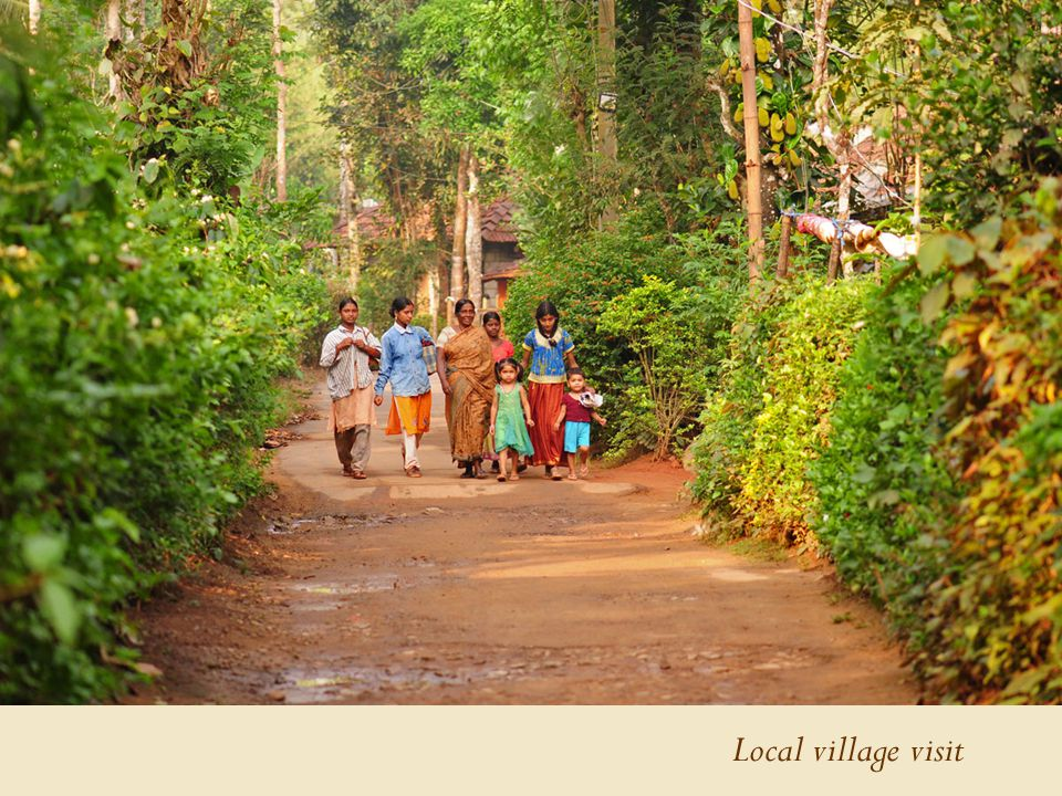 Local village visit