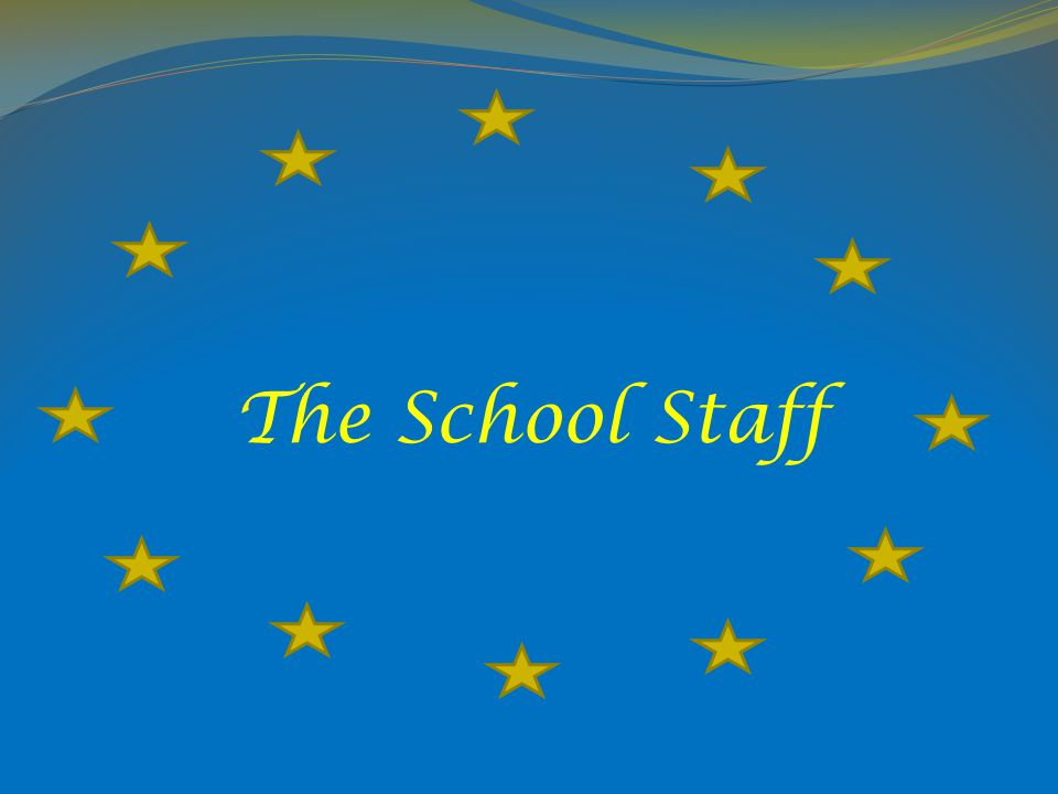 The School Staff