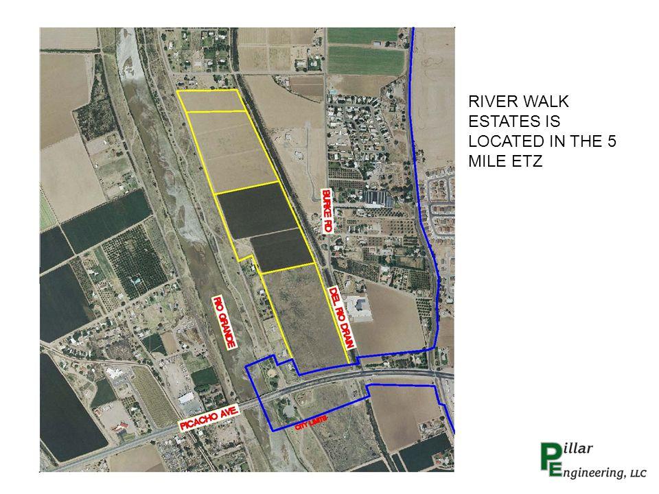 RIVER WALK ESTATES IS LOCATED IN THE 5 MILE ETZ
