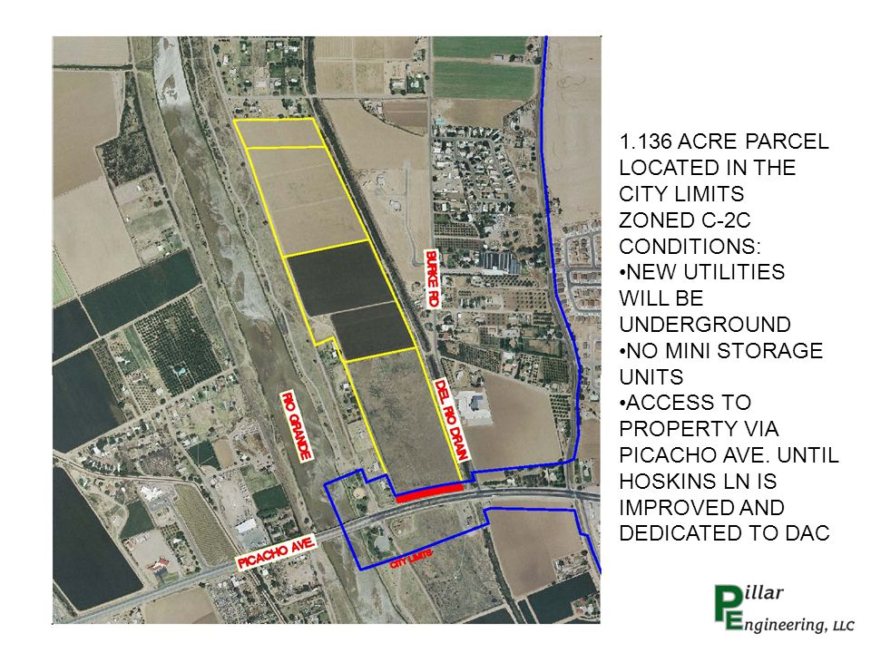 PROPOSED 7.237 ACRES PARCEL FOR EC2 ZONING