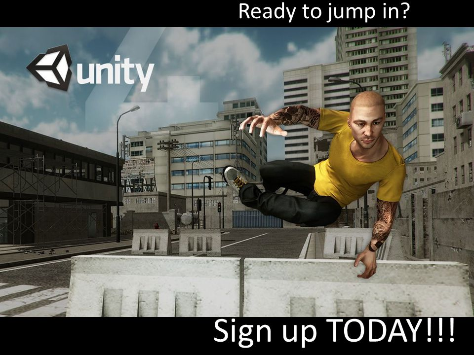 Ready to jump in Sign up TODAY!!!