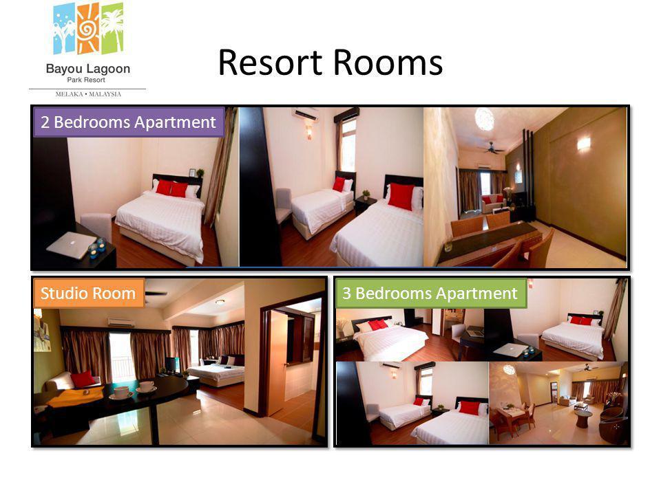 Resort Rooms 2 Bedrooms Apartment Studio Room3 Bedrooms Apartment