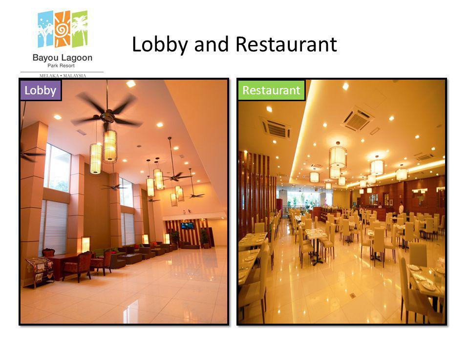 Lobby and Restaurant LobbyRestaurant