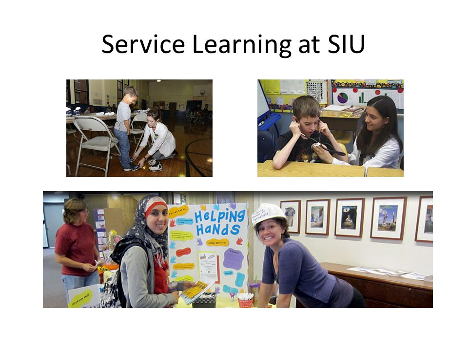Service Learning at SIU