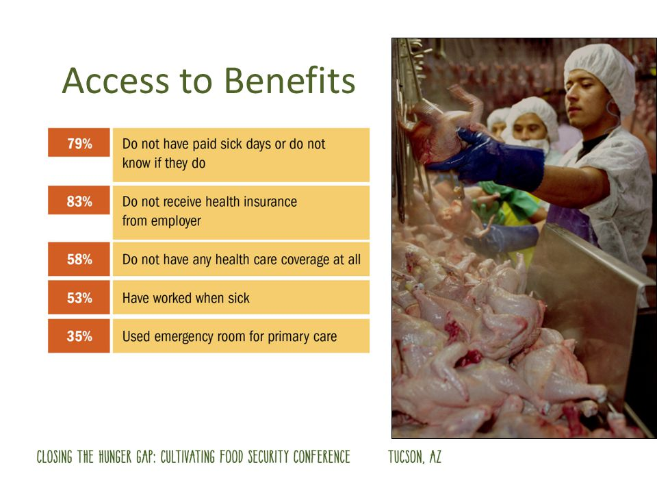 Access to Benefits