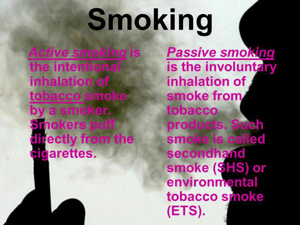 Active and passive smoking causes serious and invalidating consequences for human body and environment: About 650.000 people die each year because of smoking; About 79.000 adults die every year because of passive smoke.