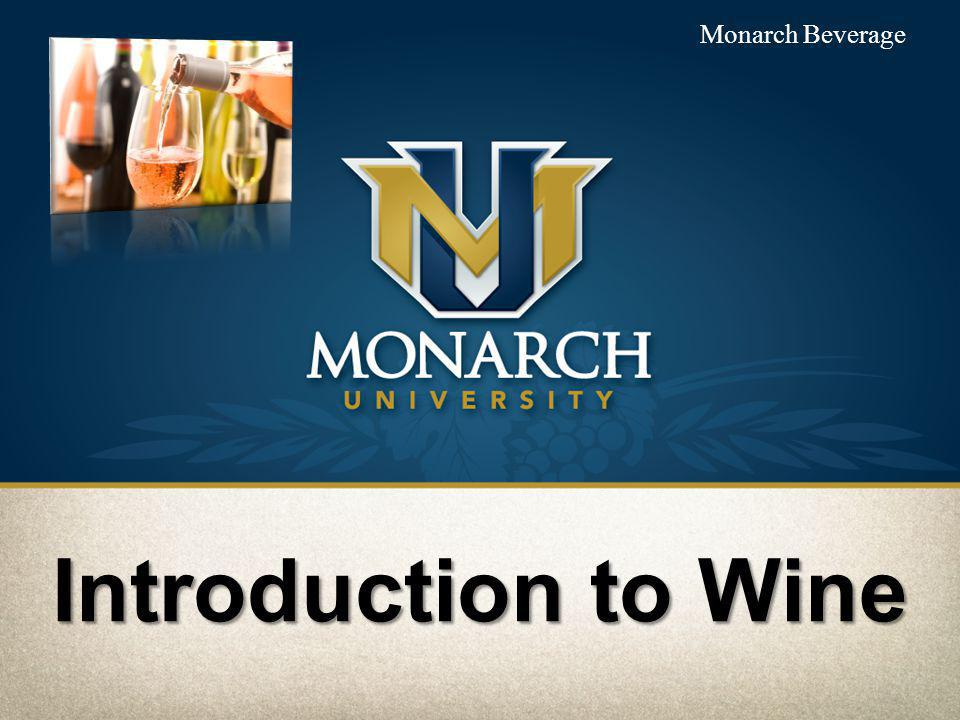 Introduction to Wine Monarch Beverage