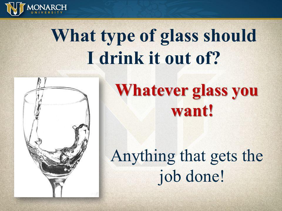 Swirl the wine Wine vs.