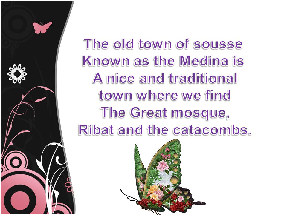 Sousse is famous by its delicious couscous, and many others meals like, Chakchouka, Broudou…… Couscous
