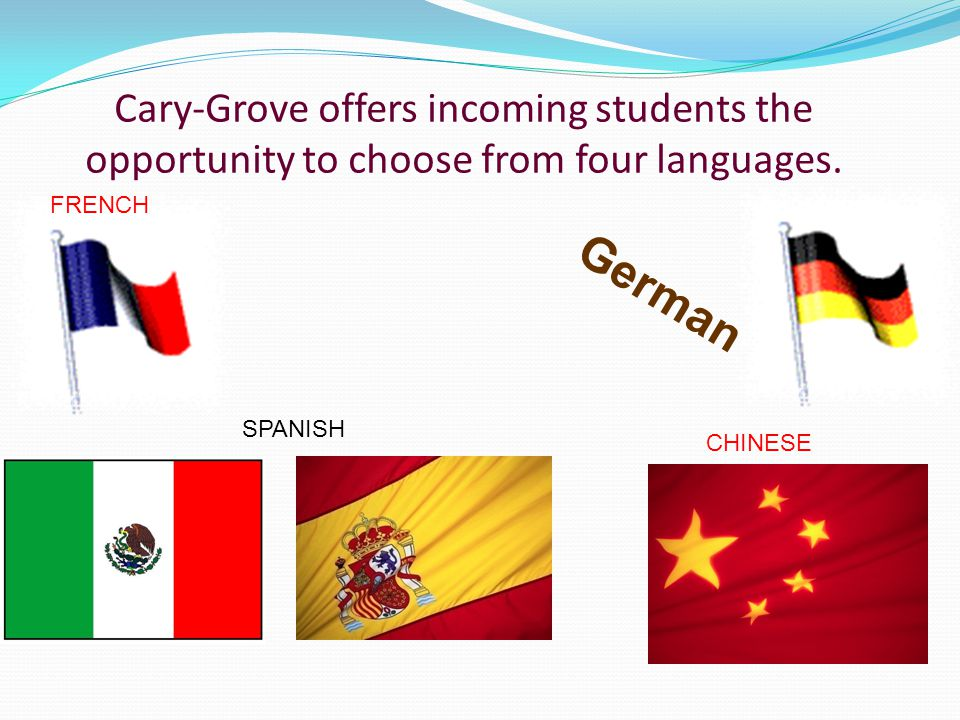 World Language in High School World Language study is beneficial in a number of ways at the high school level.