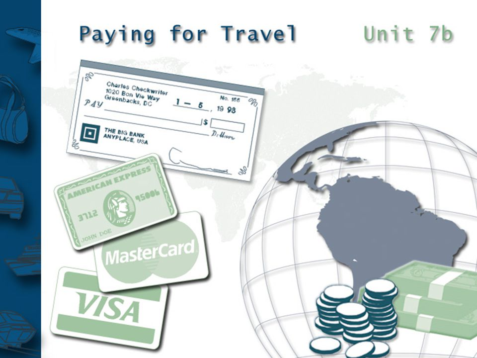 The traveller will claim back expenses using an expenses claim form.