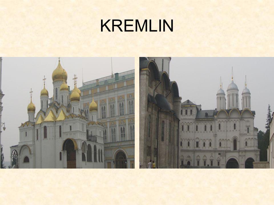 Tsars Cannon and Tsars bell