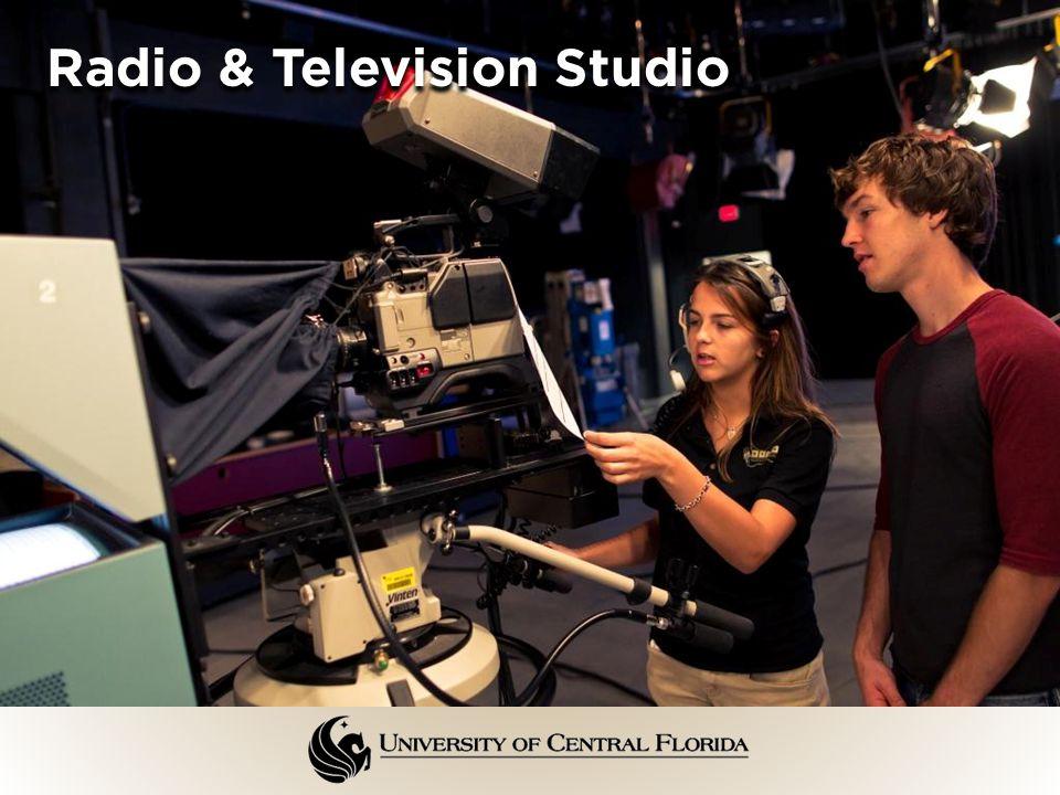 Radio & Television Studio